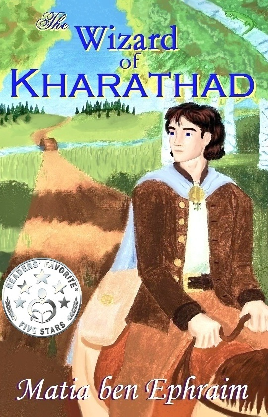 The Wizard of Kharathad front cover